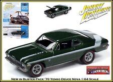 Johnny Lightning 1:64th Diecast Car '70 Chevy Yenko Deuce Nova SS By Auto World