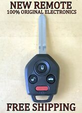 NEW W/ OEM ELECTRONICS 12-18 SUBARU KEYLESS REMOTE HEAD FOB CWTWB1U811 G CHIP
