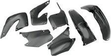 UFO Complete Plastics Kit Black #HOKIT100-001 Honda CR125R/CR250R 2000-2001