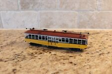 VINTAGE HO BRASS LOS ANGELES RAILWAY TYPE C Trolley S. SOHO & CO.Painted
