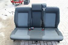 2006 VAUXHALL ZAFIRA B REAR SEATS