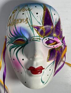 Mardi Gras Glass Mask New Orleans