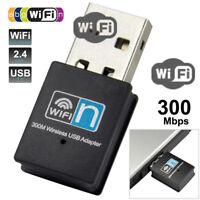 Wireless Smart TV WiFi Card WiFi Adapter USB WPS 300Mbps for Network Windows