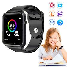 Sleep Monitor SmartWatch Unlocked Phone Call SIM GSM For Android Kids Boy Girls