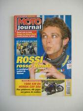 MOTO JOURNAL 1613 HONDA CBF 500-GP MOTO D'AFRIQUE DU SUD-TERRA MODENA SX2