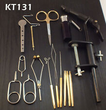 Fly Tying Tool Kit 16 piece w/ Super AA Vise - NEW- #KT131