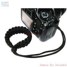 Pulsera Correa de mano Pulsera ajustable Trenzado Paracord Para Nikon Canon Sony Fuji