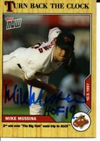 Mike Mussina Baltimore Orioles 2020 Topps Now Turn Back the Clock Signed Card
