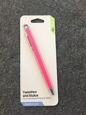 Stylus Hot Pink Twist Pen