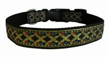"""1"""" Wide Quick Release Dog Collar Small  8""""-10.5"""" Medium Large """"11-18"""" Adjustable"""