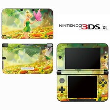 Vinyl Skin Decal Cover for Nintendo 3DS XL LL - Tinkerbell Fairy Pixie 4