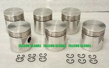 SEALED POWER Chrysler/Dodge/Plymouth 218ci 230ci Cast Pistons Set/6 1933-60 030