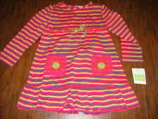 Girls' Clothing (0-24 Months) Baby Ralph Lauren Baby Girls Pink Cotton Summer Dress Size 6months Agreeable Sweetness