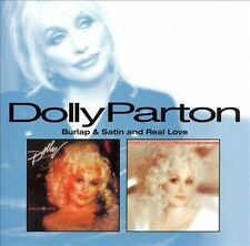 Dolly Parton BURLAP AND SATIN + REAL LOVE cd 1983/85/07~OFFICIAL~(Kenny Rogers)&