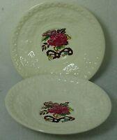 WEDGWOOD china BULLFINCH pattern AL9351 Saucer - Set of Two Wellesley Shape