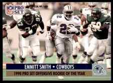1991 PRO SET FOOTBALL EMMITT SMITH (OFFENSIVE ROY) #1B MINT   FTR3H41