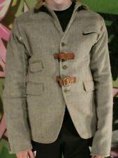 JOEY D MENS WOMEN CUSTOM IRISH TWEED JACKET BLAZER REWORKED RECONSTRUCTED S91