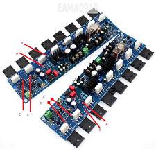 One Pair E405 300W 4-8Ω A1943/C5200 2SA1930/2SC5171 AMP Power Amplifier Board