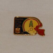 Vintage Houston Oilers Football NFL Pin Kodak Official Film Of The NFL 1989