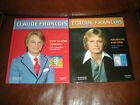 LOT 2 CD + LIVRES COLLECTION OFFICIELLE CLAUDE FRANCOIS INTEGRALES STUDIO 71 77