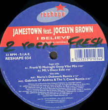 JAMESTOWN - I Believe, Feat. Jocelyn Brown (The Italian Remixes) - Reshape