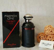 REVILLON FRENCH LINE For men  eau de toilette 125ml splash, vintage