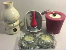 Lot of Candles and Candle Holders.