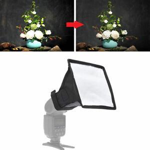 Flash Diffuser Softbox Camera Photo Soft Box Universal Foldable Light ReflecBBI