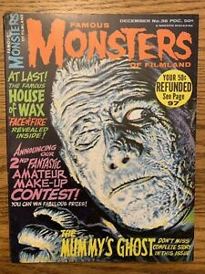 Famous Monsters of Filmland #36 FN/VF WARREN The Mummy's Ghost