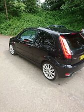 Black Ford Fiesta ST 2007 MOT until May Great condition Low Mileage Spare wheel