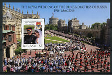Kiribati 2018 MNH Prince Harry & Meghan Royal Wedding 1v M/S Royalty Stamps