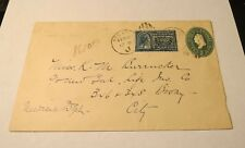 SCOTT #E4 1894  SPECIAL DELIVERY 10C ON COVER
