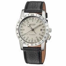 Glycine 3944.11-66.LB9U Airman No. 1 Purist Automatic 36mm Silver Dial - GL0161