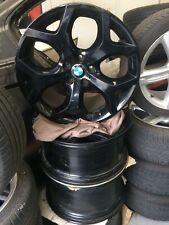 "GENUINE BMW X5 STAGGERED WHEEL RIMS  20""  BLACK"