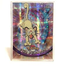 Pokemon Topps Chrome Tekno #53 Persian Trading Card TV Animation. Rare! HTF!