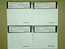 "Genuine Microsoft MS-DOS 6 UPGRADE 5.25"" Computer Floppy Disks"