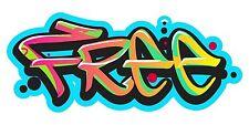 Grafitti Style Graffix Grafix Free Sticker Decal Graphic Vinyl Label