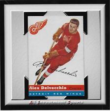 1954 Topps ALEX DELVECCHIO #39 EXMT *tough hockey card for set* DD17