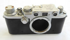 Leica Leitz 3F, IIIF  Camera # 660959 1953 CLA,d 3 month warranty Wetzlar red #