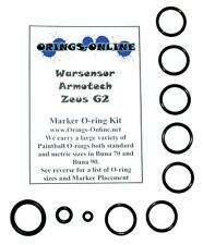Warsensor Armotech Zeus G2 Paintball Marker O-ring Oring Kit x 4 rebuilds / kits