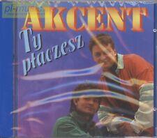 = AKCENT - TY PLACZESZ / Zenek Martyniuk / disco polo dance / CD sealed