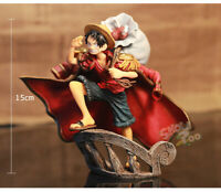 15cm One Piece The captain Monkey·D·Luffy Anime Movie Figure Gift Toy New in box