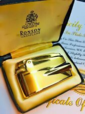 More details for  ronson varaflame. two-tone 24ct gold plated premier. seller refurbished. type b