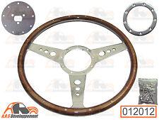 VOLANT style MOTOLITA rivet bois+moyeu+vis pour Citroen 2CV DYANE MEHARI -12012-