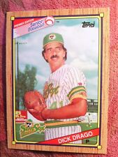 SENIOR BASEBAL  TOPPS  1989  #17   DICK  DRAGO