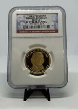 2007 S Thomas Jefferson Presidential $1 Coin NGC PF69 Ultra Cameo