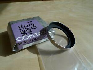 NEW Genuine Contax GG-1 Metal Lens Hood for G Planar Lens Thread 46mm