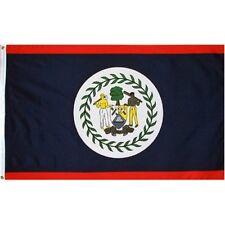 2x3 Belize Premium Quality Fade Resistant flag 2'x3' banner Brass Grommets