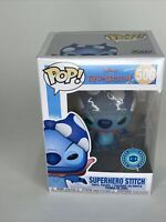 "Funko Pop Disney Lilo & Stitch : SuperHero Stitch #506 Special Edition ""MINT"""