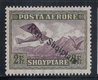 Albanien 1927 Mi. 149 Ungebraucht * 40% Flugpost Aufdruck 3 Fr